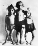 Children with rickets from 1920s Vienna