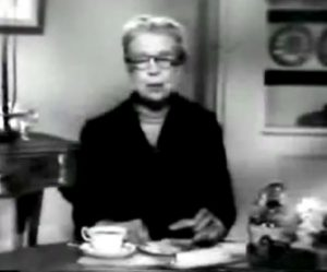NH Eleanor Roosevelt margarine commercial