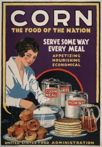 Corn Food of Nation 1918
