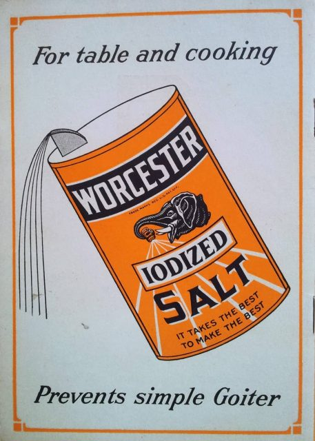 NH iodized salt Worcester